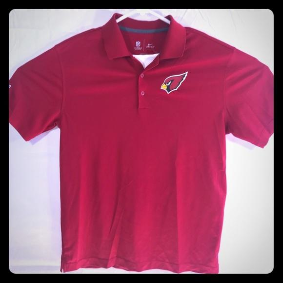 f0fab22d Arizona Cardinals Polo Shirt Nike Dri-Fit Dri Fit
